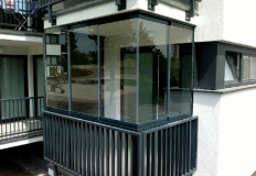 Bezrámový systém - galéria