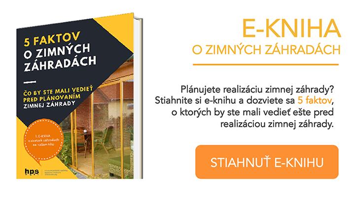 e-Kniha 5 faktov o zimných záhradách HPS mont s.r.o.