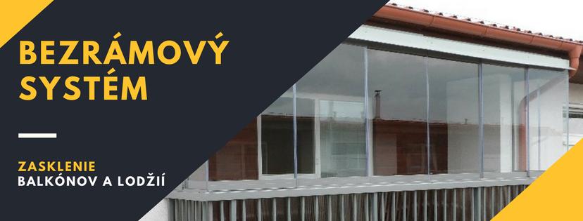 HPS mont s.r.o. Bezrámový systém Zasklenie balkónov a lodžií