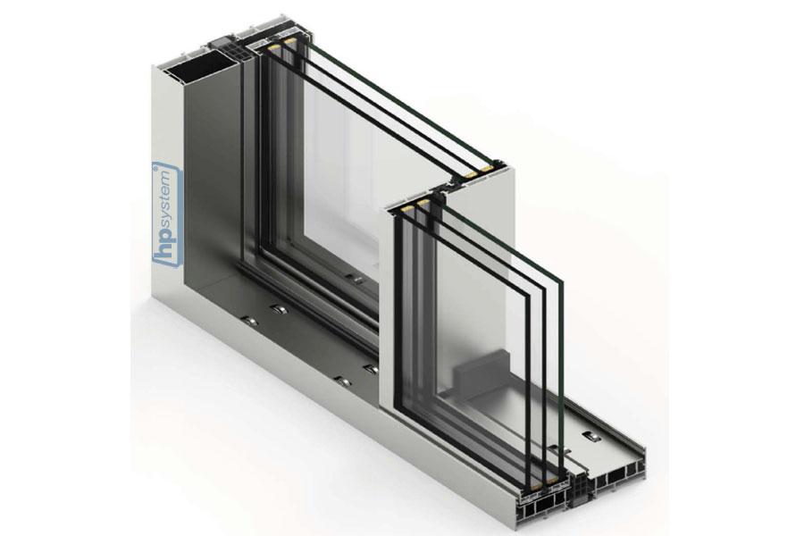 Posuvný systém COR Vision Plus, s prerušeným tepelným mostom