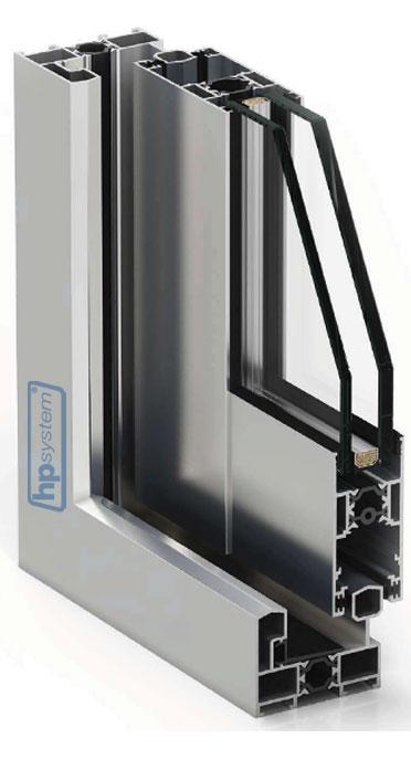 Posuvný systém s prerušeným tepelným mostom COR4200