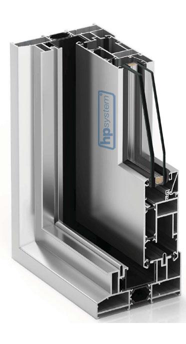 Zdvižno-posuvný systém s prerušeným tepelným mostom COR4500