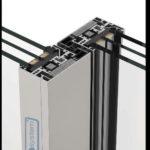 Zdvižno-posuvný sprerušeným tepelným mostom systém COR 4600
