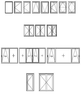 Hliníkové okno s prerušeným tepelným mostom COR 70 industrial
