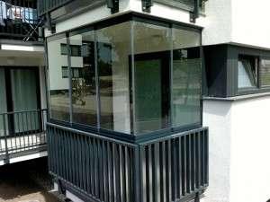 Referencie bezrám systém zasklenie balkón 2013