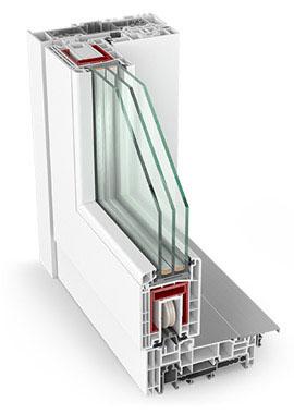 Plastové dvere System HST