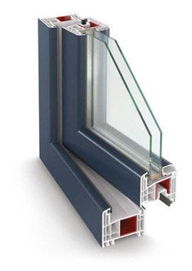 Plastové okná a dvere Gealan 8000