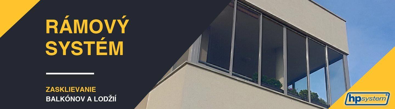 Rámový systém – zasklenie balkónov a lodžií