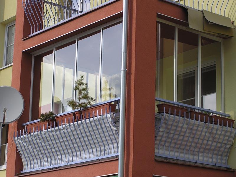 HPS mont s.r.o. Rámový systém Zasklenie balkónov a lodžií